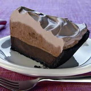 Heavenly Chocolate Layer Pie