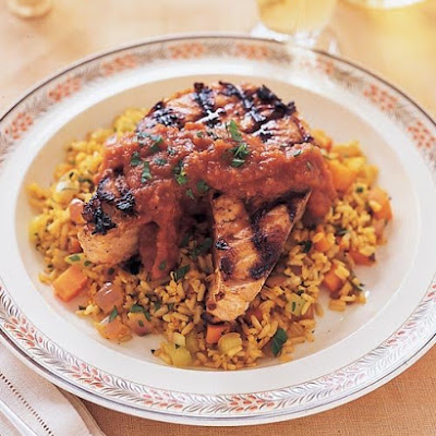 Spiced Brown Rice Pilaf