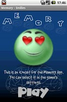 Screenshot of Memory - Smilies
