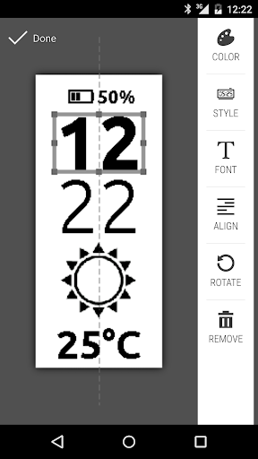 Clocki for SmartBand Talk - screenshot
