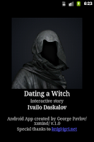 Screenshot of Dating a Witch Gamebook