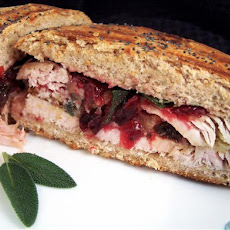 Turkey/ Cranberry/ Dressing Panini