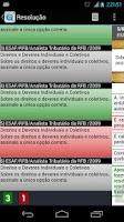 Screenshot of iQuestões Concursos e OAB