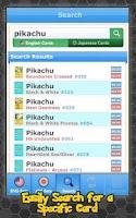 Screenshot of Pokellector