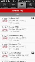 Screenshot of IAA Buyer Salvage Auctions