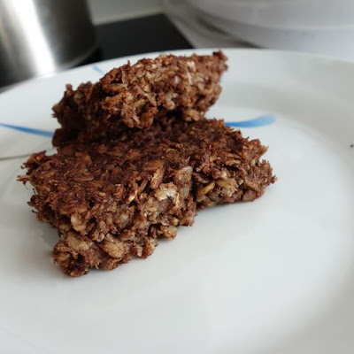 Choconananut Oatmeal Brownies