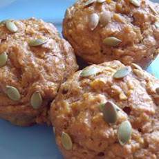 Pumpkin Oat and Treacle Muffins