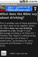Screenshot of Bible Answers Unbiased & UNCUT