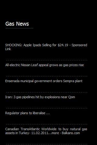 Gas News