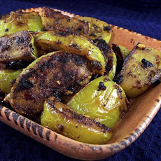 Green Tomatoes with Indian Spices