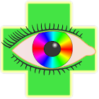 Color blindness correction icon