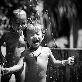 Cold bath. by Phuong Leba - Babies & Children Children Candids (  )