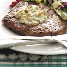 Sirloin with Blue Cheese Butter