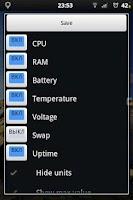 Screenshot of LiMem - widget