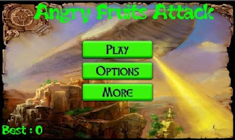Screenshot of Angry Fruits Attack
