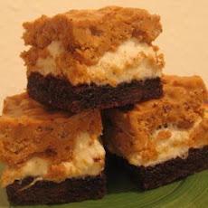 Butterscotch Krispie Marshmallow Brownies