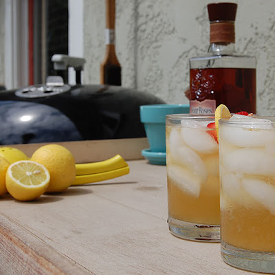 Grilled Lemonade Cocktails