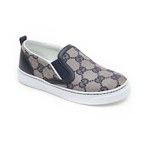 Gucci Logo Canvas Slip On TRAINER