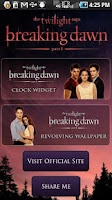 Screenshot of Breaking Dawn Countdown Widget