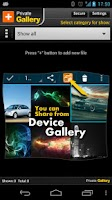 Screenshot of Private Gallery: Hide pictures