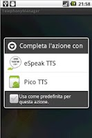 Screenshot of TelephonyManager