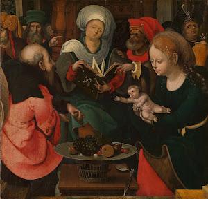 RIJKS: Meester van de Aanbidding te Lille: painting 1530