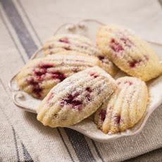 Raspberry Madeleines From 'Fruitful'