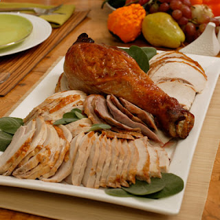 Deconstructed Holiday Turkey with Sage Gravy