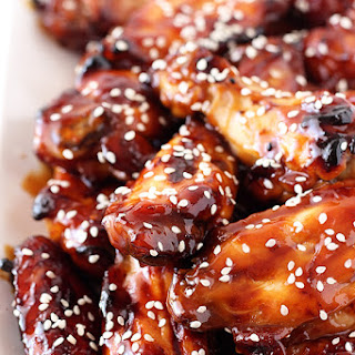 Honey Baked Teriyaki Chicken Wings