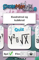 Screenshot of SkoleMat Level 8 gratis