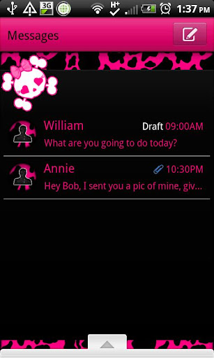 GO SMS - Pink Cow Punk