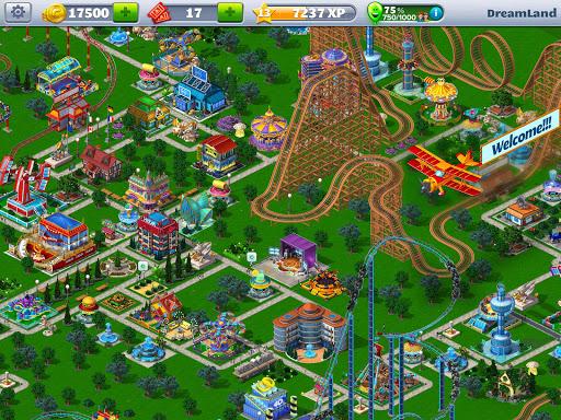 RollerCoaster Tycoon 4 Mobile - screenshot