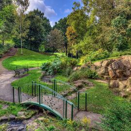 The Secret Garden by Darrell Burnett - City,  Street & Park  City Parks ( park, hdr, woodthorpe, garden, nottingham )