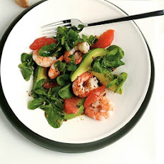Prawn Salad With Grapefruit Vinaigrette