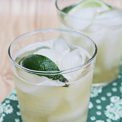 Infused Limeade with Fresh Mint