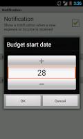 Screenshot of ExpenZa