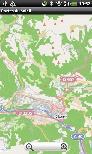 Portes du Soleil Ski Area Map