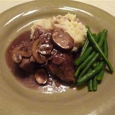 Steak Tips with Mushroom Sauce