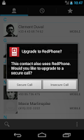 Screenshot of RedPhone :: Private Calls