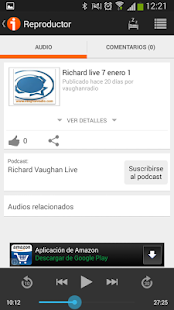 iVoox Podcast (Android 2.2) APK for Bluestacks