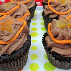 Vegan Chocolate Orange (Jaffa) Cupcakes