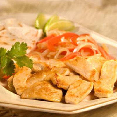 Garlic & Herb Chicken Fajitas