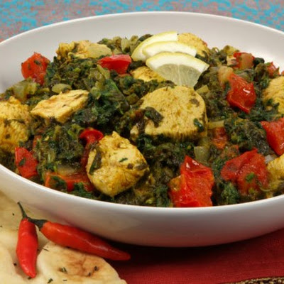 Chicken in Spicy Spinach Sauce CBC Best Recipes Ever