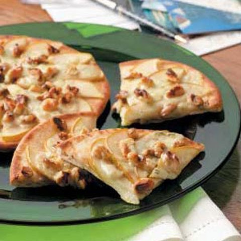 Pear Pizza Wedges Recipe