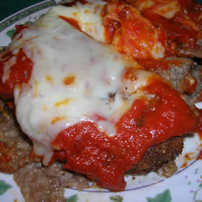 Steak Parmesan