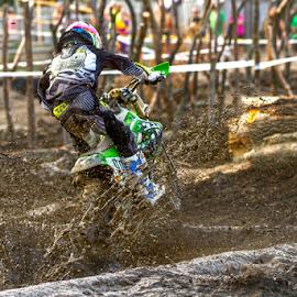 EnduroCross by Josh Rud - Sports & Fitness Motorsports ( muddy, endurocross, mudding, mud, motocross, racing, dirty, motorcycle, off road, dirt bike, kawasaki )