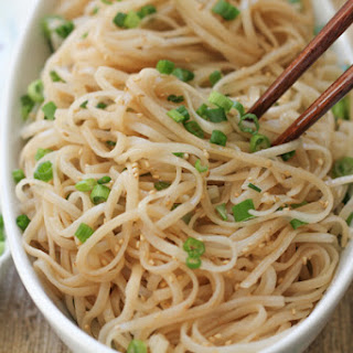 Longevity Noodles for Chinese New Year