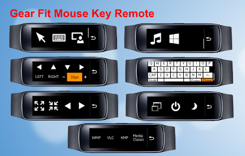 Gear Fit Mouse Key Remote Pro - screenshot
