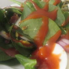 Easy and Awesome Spinach Salad