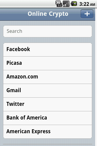 【免費生產應用App】Online Crypto Password Manager-APP點子